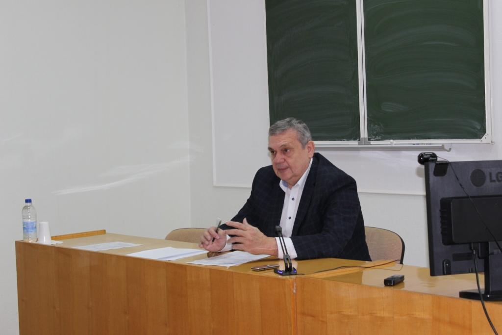 Вступительное слово директора СКФНЦСВВ Егорова Е.А.